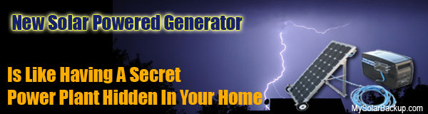 Solar PowerSource 1800 - The solar generator kit